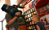(Denver, Colo., May 24, 2004) Channel 4 cameraman photographs Andrew Rodriguez, 4, of Denver, in...