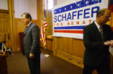 Bob Schaffer, running for the U.S. Senate as a Republican to replace retiring Senator Wayne Allard...