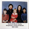A portrait of the Works family, taken in 1995. The picture was published in the 1995 Directory for...