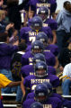 (FOUNTAIN, Co., SHOT 10/2/2004) The Lake County Panthers make their way through the cheering crowd...