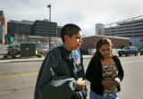 Sixteen Denver schoolchildren were transported to area hospitals after their bus collided with a...