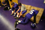 (FOUNTAIN, Co., SHOT 10/2/2004) Thoroughly exhausted after a 42-28 loss Lake County Panthers'...
