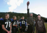 The Platte Canyon High School football team played the Colorado Springs Christian School and lost...