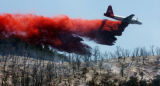 A wildfire in New Castle, Colorado has grown to encompass more than 1,800 acres and continues to...