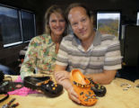 CODZ101 - Sheri and Rich Schmelzer show off some of the accessories that they sell to adorn the...