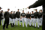 (470) Rockies pitchers an catchers gather for Colorado Rockies spring training in Tucson, AZ, on...
