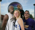 The 2008 All Colorado top Boys and top girl Basketball player and top coachs for boys and girls in...