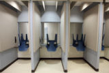 The Douglas County Jail at the Robert A. Christensen Justice Center in Castle Rock in one of...