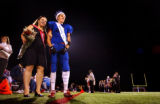 (FOUNTAIN, Co., SHOT 10/1/2004) Fountain-Fort Carson High School senior TE/LB and Homecoming King...