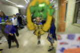 DM0097   Marisa Joseph warms up backstage at the Most Precious Blood School in Denver, Colo. Wed.,...