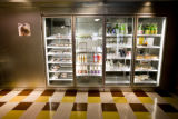 The refrigerator is the most popular, stocked with fresh made meals for those on the go at Market...