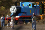 [Golden, CO - Shot on: 6/18/01]A Life-size replica of popular children's book character Thomas The...