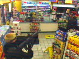 Image taken from video of an earlier armed robbery that occurred in Castle Rock at the Circle K...