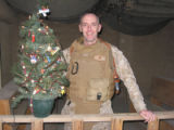 Cutline: Steve Ward is a U.S. Marine Corps colonel who  was in Iraq when he decided to run for the...