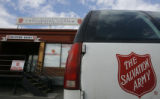 DM1706  Salvation Army Crossroads Shelter at 1901 W. 29th Street in Denver. Photograph taken on...