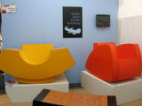 cherry creek - Chairs by artis Isaac Arms of Bozeman, Mont., who makes curvy chairs of steel...