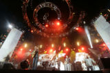 Dave Matthews Band plays during the Mile High Music Festival at Dick's Sporting Goods Park on...