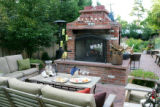Saturday Home Front story on the landscaping at Scott and Kirsten Hamling's east Denver's...