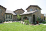 Bella Vista, one of the homes in this Parade of Homes this year, the theme is Tuscan; old-world...