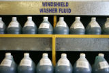 U-Pull-&-Pay, a new self-serve auto parts store in Denver, sells salvaged windshield washer...