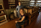 (Denver, Colo., October 18, 2004)  Janet Chambers and Mike Johnston are owners of a new store,...