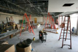 The Curtis Ballroom at Comedy Works South, under construction at Landmark Village in Greenwood...