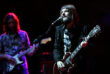 (PG7677) Band of Horses's Ben Bridwell performs at the Monolith Music Festival at Red Rocks in...
