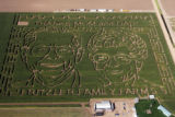 The Fritzler Corn Maze in LaSalle was unvielded Wednesday September 10,2008. Owner Glen Fritzler...
