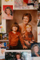 DM6848  Family photographs of Patricia Guntharp were on display during her funeral at Horan &...