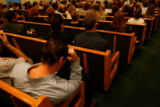 DM6857  People filled the pews at Horan & McConaty Chapel at 11150 E Dartmouth Ave. in Aurora,...