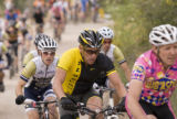 Paul Conrad The Aspen Times Seven time Tour de France winner Lance Armstrong starts the climb up...