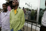 Scores of Somali workers In Greeley gathered for mid day prayers at the Greeley Islamic Center on...