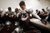 (DENVER, Co., SHOT 9/30/2004) Silver Creek High School's Jerry Graham (#25), a junior on the team,...