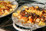 Pork Belly and Apples, made by students at the Culinary School of the Rockies on Saturday,...