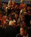 JOE0901 Republican presidential nominee John McCain works the rope line at a campaign stop on Thu,...