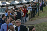 Colorado Democratic gubernatorial candidate Bill Ritter cast his ballot in the 2006 mid-term...