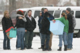 Hugs and greetings were exchanged outside The Youth with a Mission campus in Arvada after it...