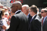 Sen. Joe Biden orders food with his family, including his daughter Ashley and wife Jill from...