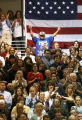 Democratic Presidential nominee Barack Obama campaigns in Colorado which is shaping up to be a key...
