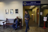 Dozens of people filled the Denver Elections Commission building in Denver as the first day of...