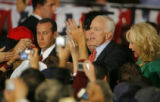 DM1617  McCainVisitsDenver55318 Republican presidential candidate Sen. John McCain and his wife,...