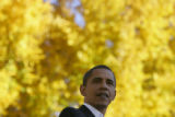 "Barack Obama addresses supporters at ""The Oval"" on the campus of Colorado State..."