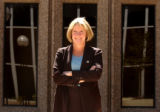 (Boulder, Colo., August 27, 2004) Portrait of District Attorney Mary Keenan at the Boulder County...
