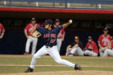 Luke Schlereth, University of Arizona baseball pitcher. Photo: Luke Adams/Arizona Athletics