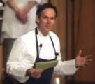 Thomas Keller (cq) speaks to students at Johnson & Wales University  Wednesday March 5,2008....