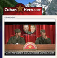 An anti-Mark Udall ad that can be viewed at www.cubanhero.com.