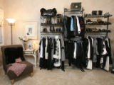 The closet in Denise Snyder's house, which used to be her daughter's bedroom.  Home Front is doing...