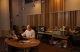 (Denver, Colo., December 14, 2004)   Gus Skinas, in his state-of-the-art digital studio where he...