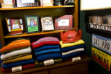 Sweaters are a popular collectable item found at Vintage Snow on Feb. 16, 2008 in Breckenridge,...