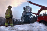 Empire, Colo., photo taken December 15, 2004- Clear Creek Fire Authority fire fighter, Mark...